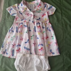 Carter's two baby dress